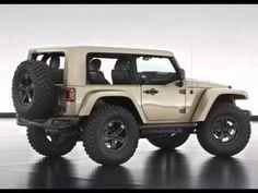 2014 Jeep Wrangler Flattop Concept for 47th Annual MOAB Easter Safari 2013 - rubicon redesign