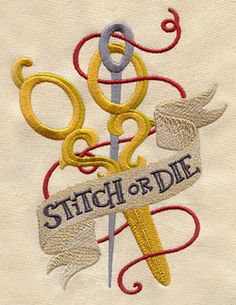 Embroidery Designs at Urban Threads - Craft or Die (Design Pack)