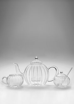 34-Oz. Glass Teapot with Creamer & Sugar  $35.99    I really like glass teaware.