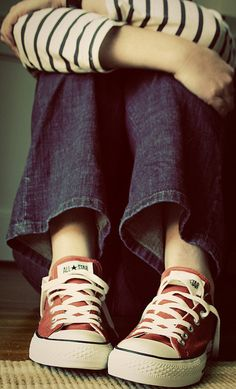 converse, denim, stripes