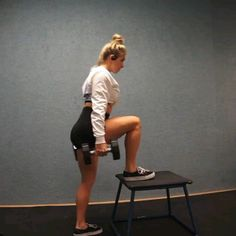 Leg Workout Snake and Ealge long sleeve worn on this legwork by Lady G Fitness Best Workout Dvds, Best Home Workout Equipment, Workout Videos, Home Exercise Program, At Home Workout Plan, At Home Workouts, Leg And Glute Workout, Dumbbell Workout, Circuit Training Workouts