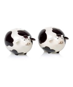 Take A Look At This Cow Salt U0026 Pepper Shaker Set By Clay Art On #