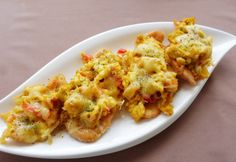Tojásos-lecsós csirkemellszelet Sacher, Kaja, Cauliflower, Macaroni And Cheese, Chicken Recipes, Turkey, Vegetables, Ethnic Recipes, Muffin