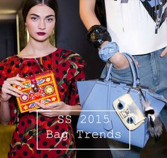 Spring/ Summer 2015 Handbag Trends.