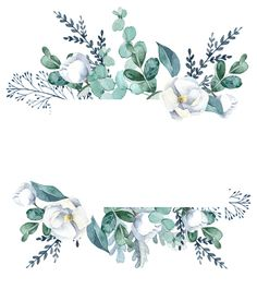 Flower Background Wallpaper, Framed Wallpaper, Flower Backgrounds, Wallpaper Backgrounds, Iphone Wallpaper, Watercolor Flowers, Watercolor Art, Molduras Vintage, Floral Border