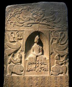 Buddhist votive stele (China, Museum Rietberg, Zurich) 2 © Barbara-Paraprem, 2014