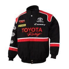 Very Cool Toyota Racing Team Jacket Team Jackets, Cool Jackets, Import Cars, Racing Team, Toyota Camry, Motorcycle Jacket, Teacher, Spirit, Prom
