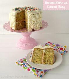 Banana Crumb Cake I www.orwhateveryou... I #breakfast #tea #snack  #recipe #cakes #baking #cooking