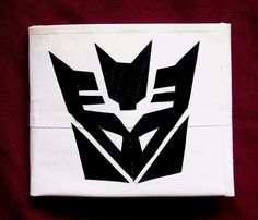 Transformers decepticon duct tape wallet by TheSwaggerStuff, $8.00