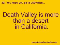 Is there a desert called Death Valley too?