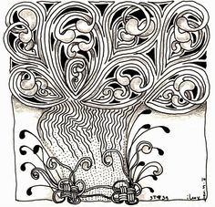 lily moon zentangle - Google Search