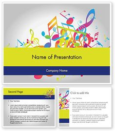 http://www.poweredtemplate.com/11849/0/index.html Colorful Tunes PowerPoint Template