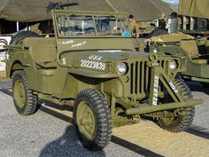 Charles Sumner 1943 Willys MB