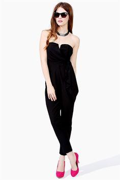 Harem Jumpsuit - Black