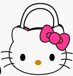 Bolsa de Hello Kitty. Con plantilla. | Ideas y material gratis para fiestas y celebraciones Oh My Fiesta!