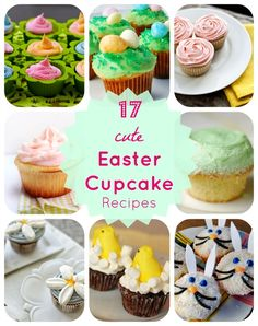 17 Delicious & Adorable Easter Cupcake Recipes