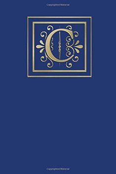 Ruled Monogram Journal C