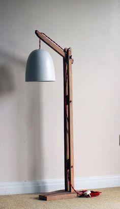 Wooden Floor Lamp Stand