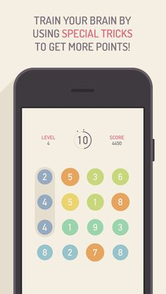 GREG - A Mathematical Puzzle Game Marco Torretta 디자인이 깔끔한 숫자 두뇌 게임