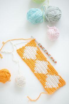 Harlequin Tapestry Crochet tutorial