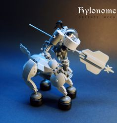 """Hylonome Defense Mech LEGO MOC"" by GolPlaysWithLego: Pimped from Flickr"