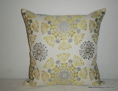 DecorativeAccentThrow Pillow CoverFree US by EllensDesigns on Etsy, $30.00