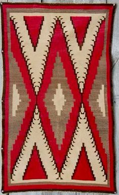 Klagetoh Navajo rug.