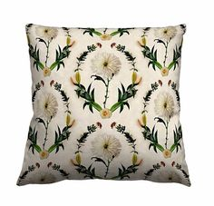 Dayna Embrey Blossom pillow available at guildery.com