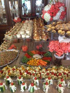 pre wedding- Bride's house- Armenian Wedding- food- finger food- Made by Me Catering  http://www.vintagevinylcds.com/