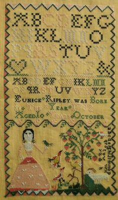 Eunice Ripley-1772 :: Sampler Browse :: The Essamplaire