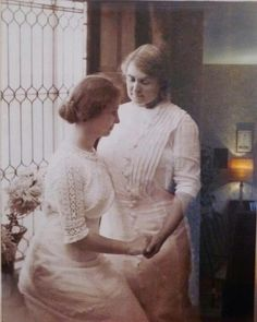 I love this picture of Maria Montessori and Helen Keller.Two great people.