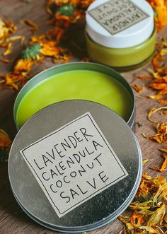 Try making our Lavender Calendula Coconut Salve.