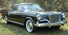 56 studebaker hawk - isn't she lovely! Now I'm not a big car freak but this car just makes my jaw drop!!!