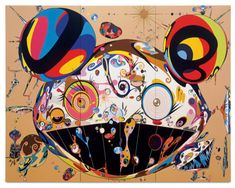 takashi murakami's art. he is artist in japan.