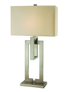 Precision Table Lamp by Trend Lighting at Gilt, $185 - Too tall though, 34 1/2""