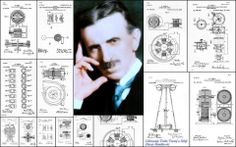 Tesla and some of his inventions Tesla Technology, Science And Technology, Ufo, Nikola Tesla Patents, Les Inventions, Nicola Tesla, Tesla Quotes, Pseudo Science, Tesla Coil