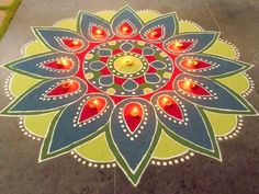 Latest Best Award Winning Rangoli Designs for Diwali with Diya & Flower Themes for Competitions, Simple Easy Deepavali Rangoli Patterns, Beautiful HD Images Rangoli Designs Latest, Simple Rangoli Designs Images, Rangoli Designs Flower, Colorful Rangoli Designs, Rangoli Designs Diwali, Flower Rangoli, Mehndi Art Designs, Beautiful Rangoli Designs, Diwali Rangoli