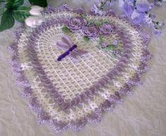 My home sweet home: Corazones tejidos a Crochet