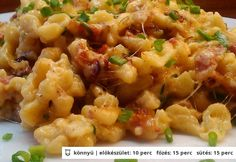 TOP 12 recept, ha zárva a közért Hungarian Cuisine, Hungarian Recipes, Hungarian Food, Austrian Recipes, Good Food, Yummy Food, Food Lab, Pub Food, Gnocchi Recipes