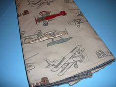 Vintage Airplanes Blanket by AHouseDivided on Etsy Aviation Nursery, Airplane Nursery, Baby Boy Rooms, Baby Boy Nurseries, Baby Boys, Wishes For Baby Boy, Airplane Fabric, Train Nursery, Car Seat And Stroller