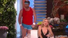 Pin for Later: 16 Hilarious Times Ellen DeGeneres Scared the Sh*t Out of Her Celebrity Guests Ellen DeGeneres Scaring Kate Hudson