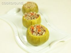 Zucchine ripiene di carne: Ricette Turchia | Cookaround
