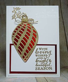 A sample from my 12 weeks of Christmas newsletter at dreamingaboutrubberstamps.com