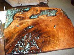 Mesquite Wood coffee table