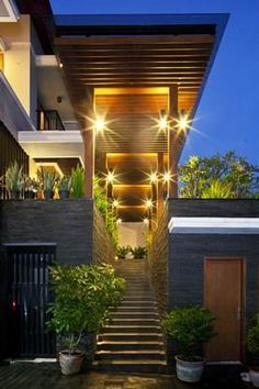 Tropical Balinese Modern House   Architizer