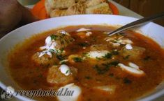 Hentesleves ahogy még nem etted recept fotóval Goulash, Thai Red Curry, Stew, Food And Drink, Ethnic Recipes, Blog, One Pot
