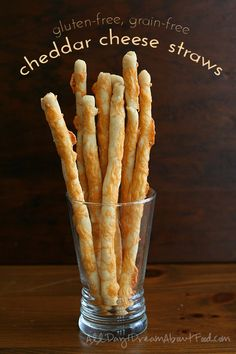 Low Carb Gluten-Free Cheese Straws Recipe | All Day I Dream About Food
