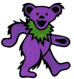 Gypsy Rose is your one-stop Hippie Shop providing quality goods to the kind community with an emphasis on eco-friendly fashions and gifts. Grateful Dead Image, Grateful Dead Dancing Bears, Hippie Shop, Hippie Art, Purple Tattoos, Head Tattoos, Tatoos, Bear Silhouette, Gypsy Rose