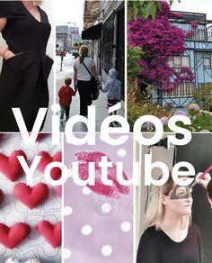 Retrouvez dans ce tableau Pinterest toutes mes vidéos Youtube. ---- Find in this Pinterest table all my Youtube videos.