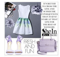 """""""SheIn"""" by little2amsterdam ❤ liked on Polyvore featuring Steve Madden, Danielle Nicole and Art Addiction"""